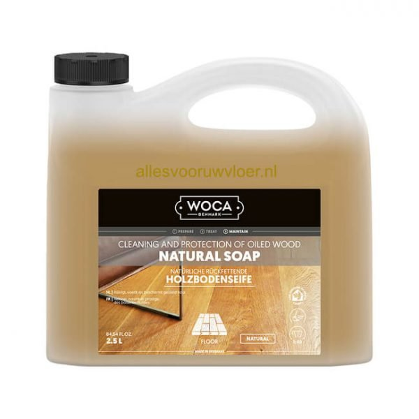 woca natuurzeep naturel 2,5L