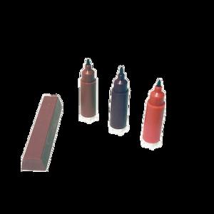 kleurenstiftenset roodbruin