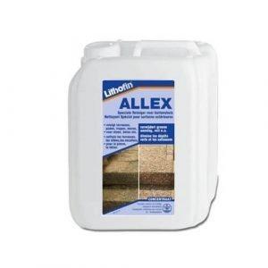 Lithofin Allex verwijdert groene aanslag van terrassen, gevels, daken en looppaden. Bevat geen chloor of zuur.