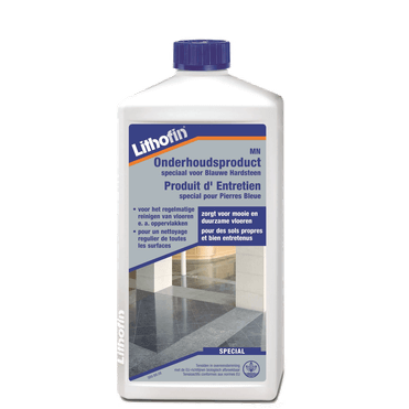 Lithofin MN onderhoudsproduct voor blauwe hardsteen