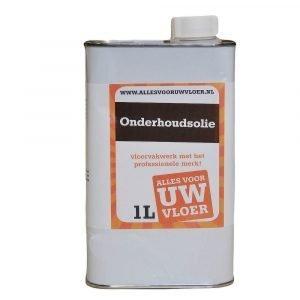 universele onderhoudolie voor geoliede vloeren