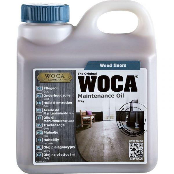 Woca onderhoudsolie grijs 1L-441