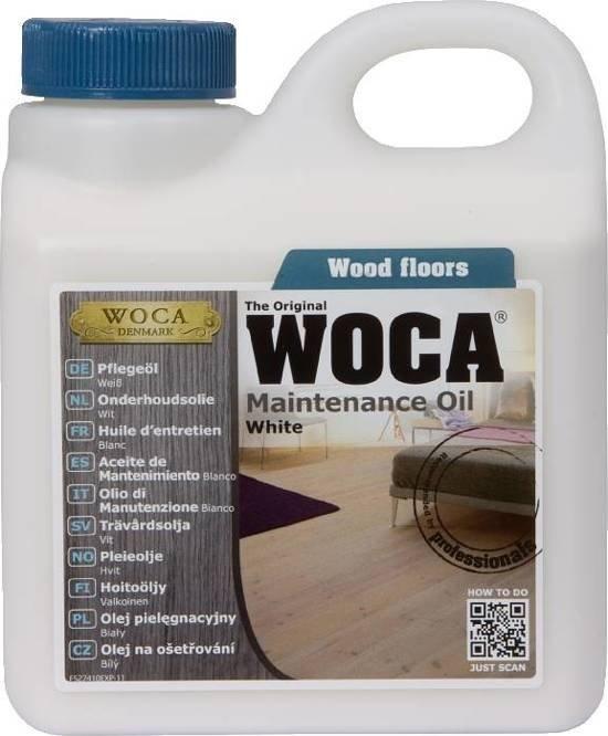Woca onderhoudsolie wit 1L-437