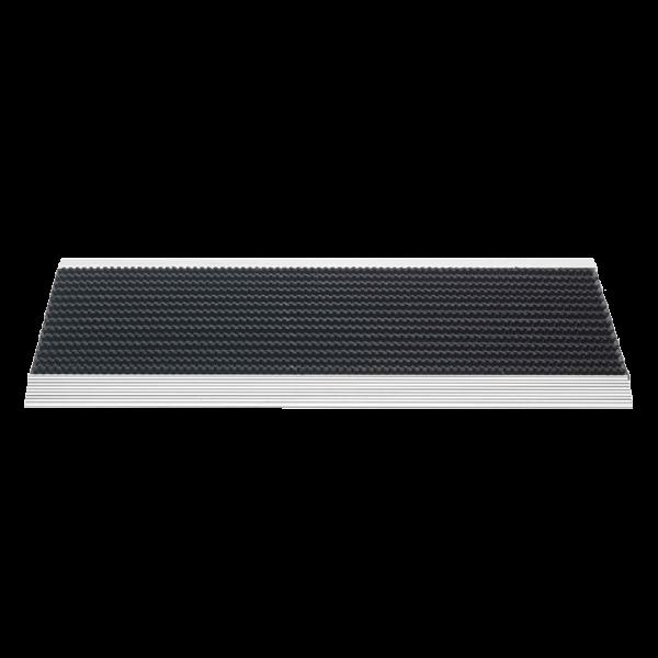 borstelmat Outline zwart 40x60-0