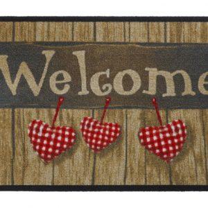 deurmat welkom met harten-0