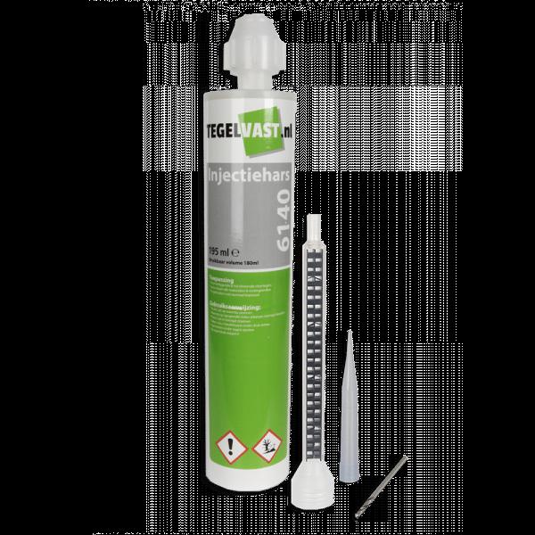 Tegelvast injectiehars 6140 voor vastzetten van holle/loszittende tegels-0