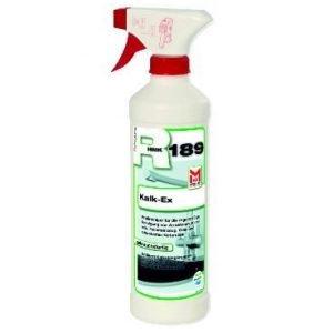 HMK R189 Kalk-Ex 0,5L, kalkverwijderaar is bedoeld voor het verwijderen van kalkaanslag, kalkranden en andere vergelijkbare vervuiling.