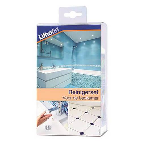 Lithofin KF Reinigerset voor de badkamer-0