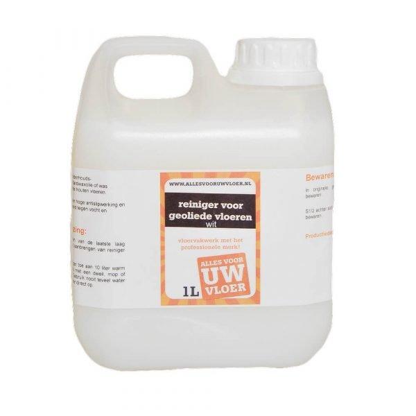 allesvooruwvloer reiniger voor geoliede vloeren wit